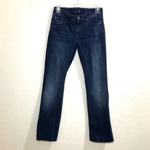 7 For All Mankind 28 Kimmie Bootcut Jeans Dark